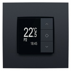 Smart thermostat on smart home system