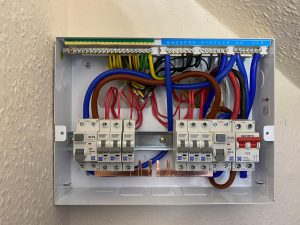 Slit load consumer unit